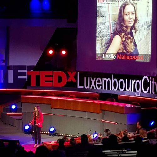 thumbnailimage of The TEDx Luxembourg City Women Talks:  by Leslie Maliepaard