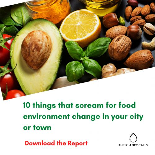 thumbnailimage of Report: 10 things that scream for food environment change in your city or town